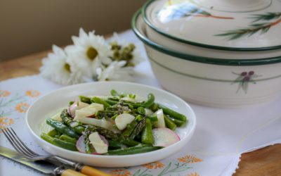 Recipe: Buttery Spring Vegetables
